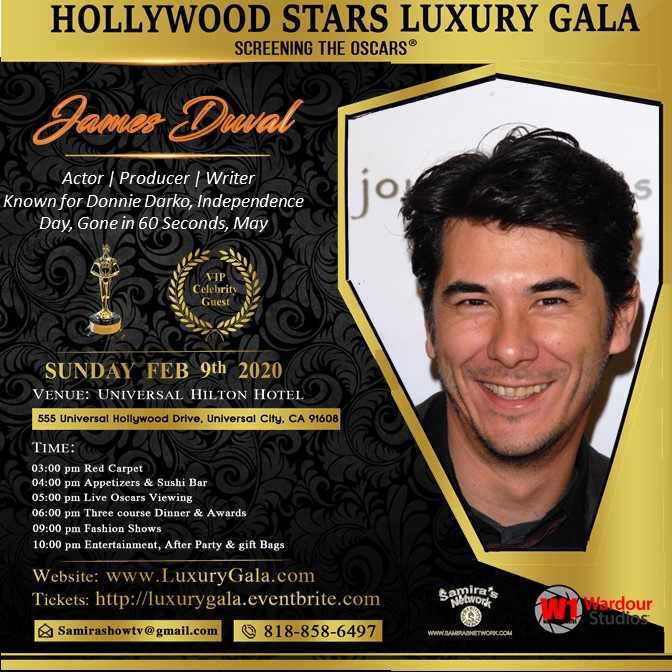 James Duval LuxuryGala2020