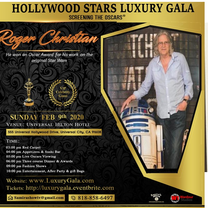 roger christia samira luxury Gala 2020