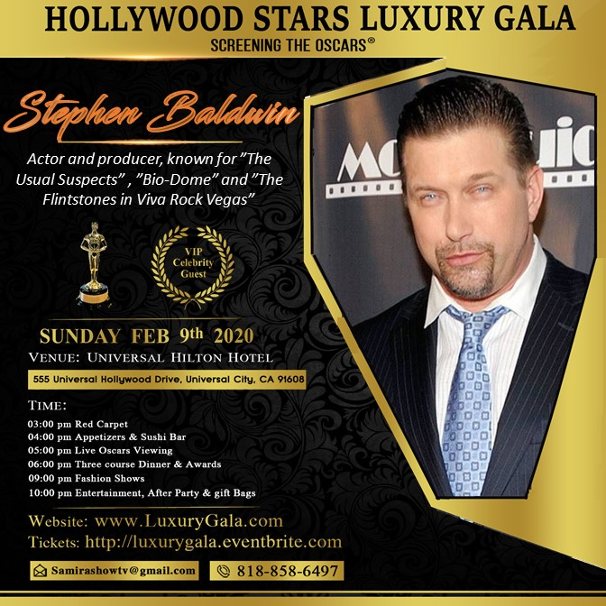 stephen baldwin luxury Gala 2020