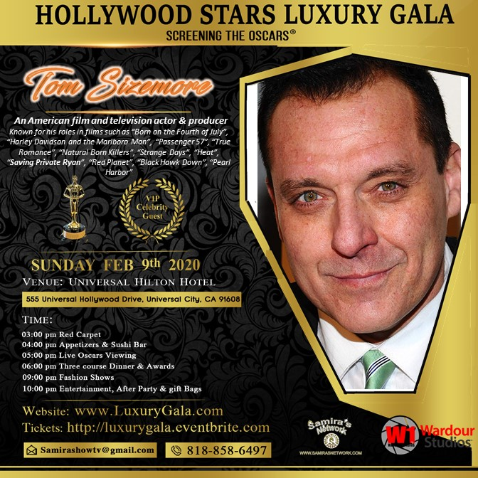 tom sizemore-Luxury-gala2020